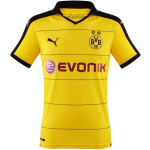 bvb trikot 2016 borussia dortmund bei fan. Black Bedroom Furniture Sets. Home Design Ideas