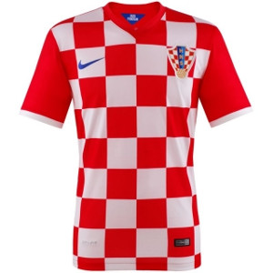 Kroatien Trikot Home WM 2014