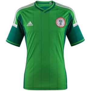 Nigeria Trikot Home WM 2014